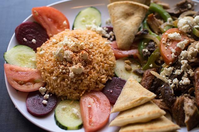 řecký pokrm