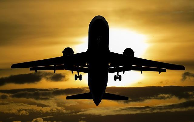 na dovolenou letadlem