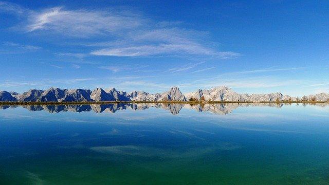 jezero v Rakousku
