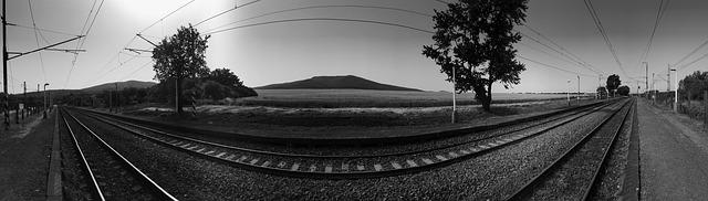panorama železnice