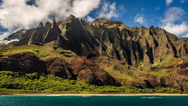 krása Hawaiské  přírody