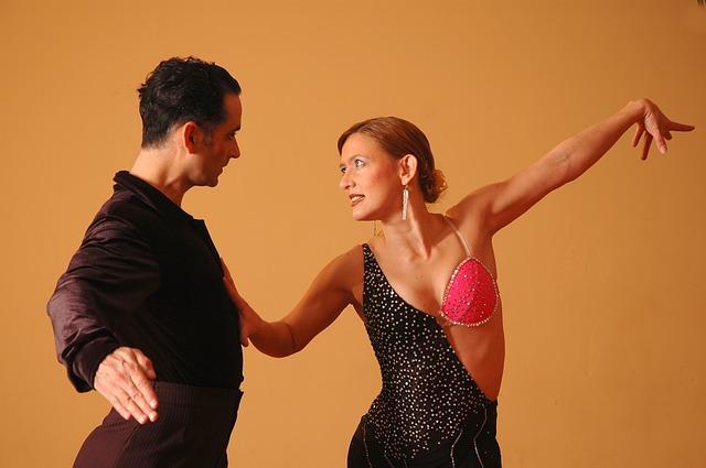 taneční pár