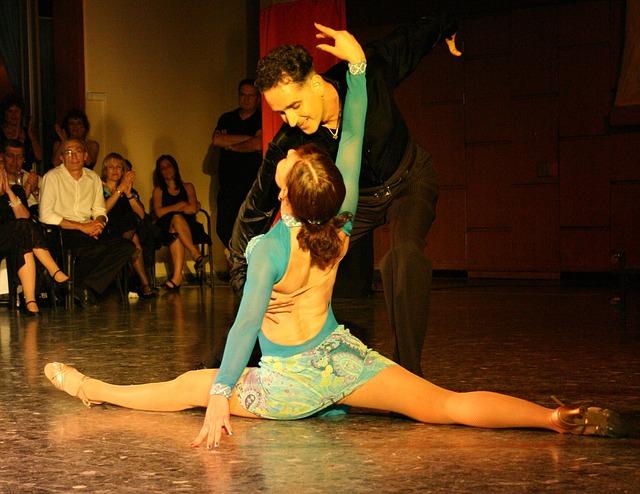 latinský tanec