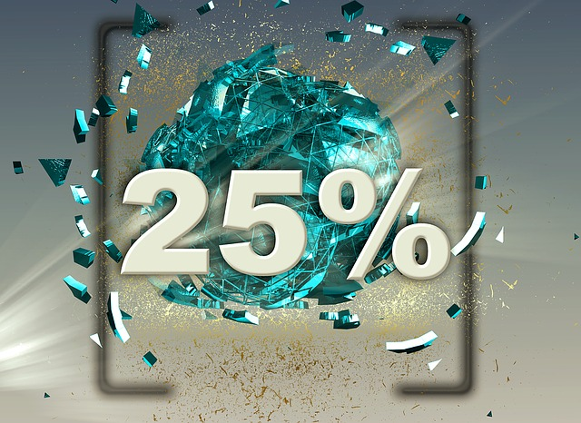 dvacetpět procent