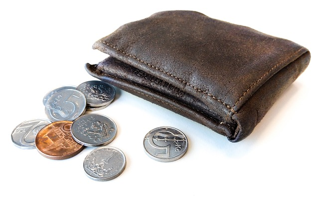 peněžnka plná