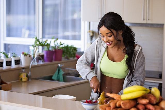 zdravá strava a metr