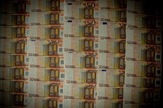 bankovky 50 euro