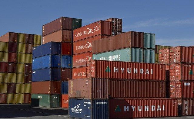 lodní kontejnerová přeprava