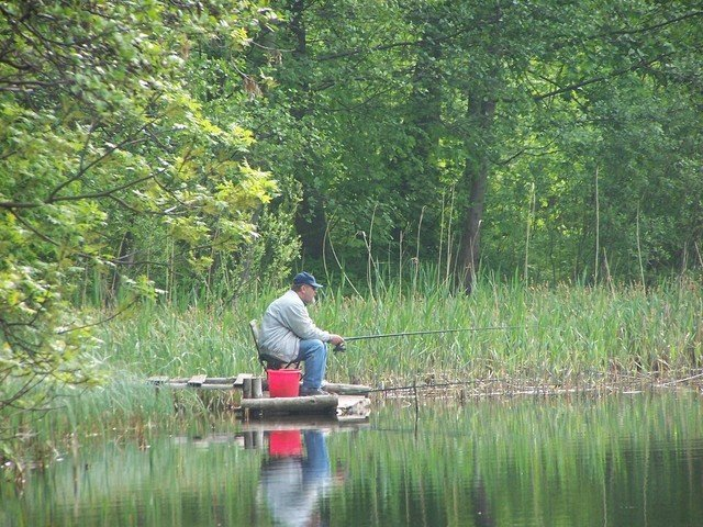 muž, který sedí u vody s prutem.jpg