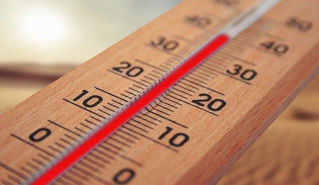 teploměr s vysokou teplotou